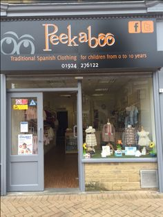 Have you seen the stunning new shop   front for Peekaboo in Ossett!   http://areyouinbusiness.co.uk/item/peekaboo-childrens-boutique/