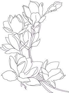 56 best ideas for flowers art pencil tattoo ideas - { Flowers } - Blumen Floral Illustrations, Botanical Illustration, Watercolor Flowers, Watercolor Paintings, Watercolour Pencil Art, Pencil Tattoo, Simple Line Drawings, Flower Sketches, Desenho Tattoo