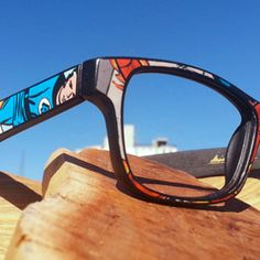 Eco-Conscious Glasses for the Comics Fan -- Paste Magazine, frames by Sires Crown Eyewear