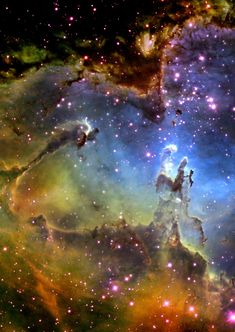 Universe Astronomy The Eagle Nebula Image Credit: T. Eagle Nebula, Orion Nebula, Carina Nebula, Andromeda Galaxy, Cosmos, Space Photos, Space Images, Hubble Space Telescope, Space And Astronomy