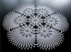 crochet home: Very beautiful doily