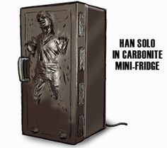 I could put my Han Solo in Carbonite ice cube trays in this fridge, if only it were released on the market.