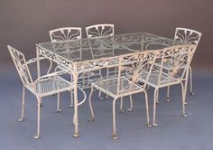 1930s vintage iron patio furniture lkUdrr9t