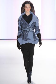 """Carolina Herrera F2012. CH is usually too """"pretty"""" for me but I love this jacket."""
