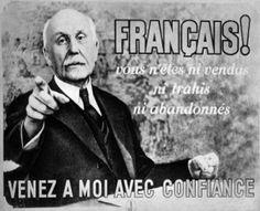 Maréchal Pétain photo occupation française. deuxième guerre mondiale noir et blanc - Google Search