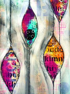 Experimenting. Art journal page | Flickr - Photo Sharing!