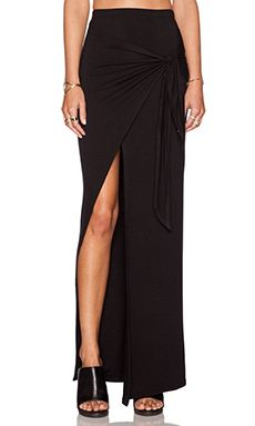 De Lacy Monica Maxi Skirt in Black