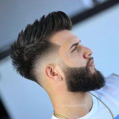 Trending Hairstyles For Men, Popular Mens Haircuts, Mens Hairstyles With Beard, Cool Hairstyles For Men, Cool Haircuts, Hairstyles Haircuts, Haircuts For Men, Short Haircuts, Hairstyle For Man