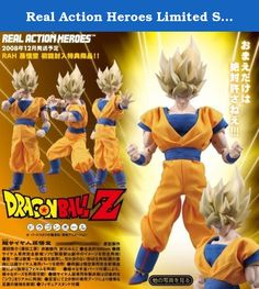 Real Action Heroes Limited Super Saiyan Goku Dragon Ball Z (japan import). It's shipped off from Japan.