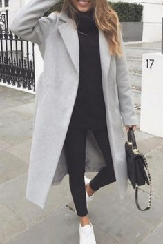 Casual Winter Outfits, Winter Fashion Outfits, Look Fashion, Fall Outfits, Autumn Fashion, Trendy Outfits, Fashion Women, White Outfits, Casual Summer