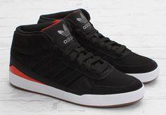 adidas Skateboarding Forum X | Black, Red & Gum
