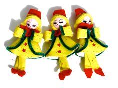 Vintage Christmas Tree Ornaments Retro Mod by SueEllensFlair
