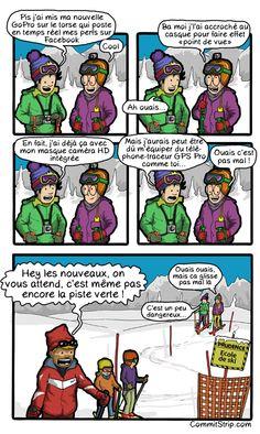 Sport d'hiver - Ski - Codeur au ski - GoPro - Ecole du Ski Francais