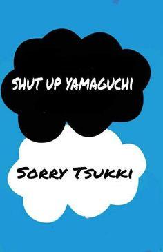 """""""Tsukki"""" and Yamaguchi"""