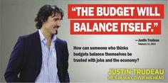 Dumbass says budgets balance themselves