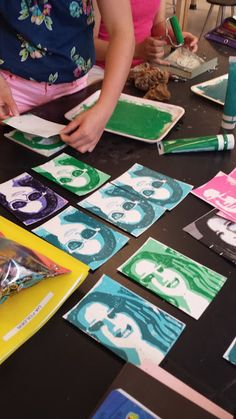 Art with Mrs. Withem: 7th grade 2-D: Printmaking!!!