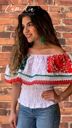 Mexican Top, Mexican Blouse, Mexican Independence Day Celebration, Angel Sleeve, Off Shoulder Blouse, Perfect Fit, My Photos, Silk, Boho