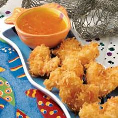 Coconut Fried Shrimp ~ for my daughter...better than Red...ya know!!! I would like a creamy coconut sauce tho, this one's a bit too sweet