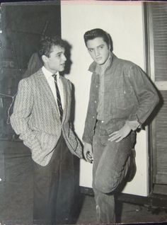 Image result for Elvis and sal mineo