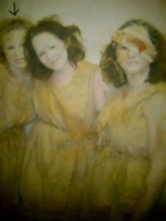 The Trojan Women (Euripedes)  Post apocalyptic style! Chorus Members (including me, on the right)
