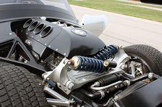 2012 Iconic AC Roadster Design Suspension