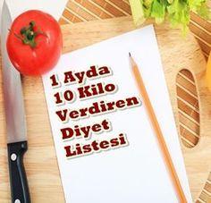 1 Ayda 10 Kilo Verdiren Diyet Listesi #1ayda10kilo #diyet #diyetlistesi