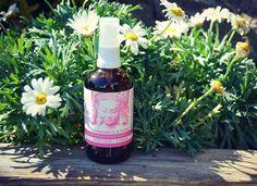 Organic Toner Rose & Chamomile Sensitive Skin Allergies Natural Skincare Facial Spritz 100mls