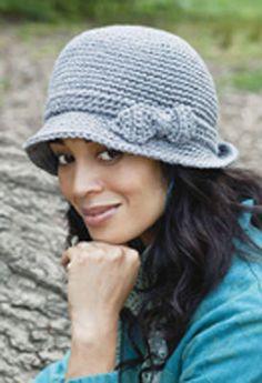 Simply Soft Elegant #Hat #Crochet #MichaelsStores