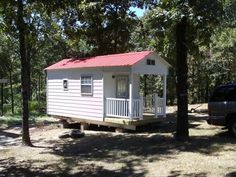 Another Slabtown custom tiny home - go visit the website.  This one is 8x22' with a nice sized porch, 2 8x8 lofts with 6x8 open to the 13' ceiling.