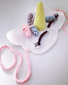 Crochet Unicorn Hat Kids Ideas For 2019 Crochet Craft Fair, Crochet Gifts, Cute Crochet, Crochet For Kids, Crochet Toys, Crochet Projects, Crochet Unicorn Hat, Crochet Mask, Crochet Christmas Hats