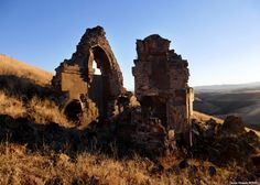 Remnants of the Mausoleum of Child Princes in Ani. A little over a century ago, as the Ottoman Empire began to crumble, Armenians -- a Christian minority in a Muslim empire -- were viewed as a fifth column, sympathetic to their fellow Christians in the Russian empire.
