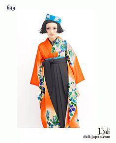卒業式のアンティークお着物レンタル袴スタイルで大正ロマンなはいからさんに変身☆