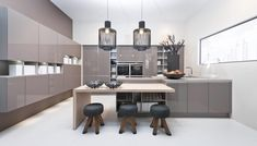 Nolte kitchens is the second largest kitchen brand in Germany. As with all German kitchen brands, nothing would be possible without the unwavering commitment these brands have for craftsmanship. Layout Design, Design Color, Glasgow, Kitchen Maker, Handleless Kitchen, German Kitchen, Functional Kitchen, Piece A Vivre, Kitchen On A Budget