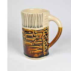 Ceramic Pottery Coffee Mug Tea Mug Coffee by KrisCravensPottery