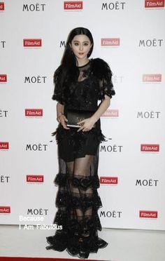 Fabulously Spotted: Fan Bingbing Wearing Louis Vuitton - '3rd Power of Film Gala Dinner' - http://www.becauseiamfabulous.com/2014/03/fan-bingbing-wearing-louis-vuitton-3rd-power-of-film-gala-dinner/