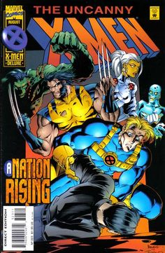 Cover for The Uncanny X-Men (Marvel, 1981 series) #323 [Direct Deluxe Edition]