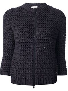 BRUNELLO CUCINELLI - zip up cardigan 6