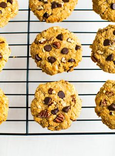 Cookies for breakfast, sign me up!These sweet potato breakfast cookies are super easy to make, delicious and great to have on hand for an on-the-go breakfast.#breakfast #cookies #eatingbirdfood