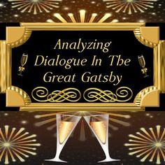 Analyzing Dialogue in The Great Gatsby Activity