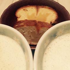 10/25 前よりおいしくないママレードパウンドケーキとコーヒー