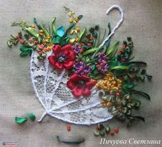 Embroidery Designs Abaya every Library Of Embroidery Stitches other Silk Ribbon Embroidery Tutorial For Beginners Ribbon Embroidery Tutorial, Silk Ribbon Embroidery, Crewel Embroidery, Cross Stitch Embroidery, Embroidery Patterns, Embroidery Thread, Embroidery Supplies, Embroidery Bracelets, Japanese Embroidery
