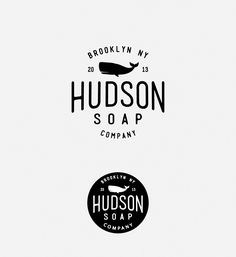 Hudson Soap Company logo design by muszaj