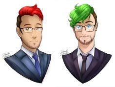 Dorks in suits by DanielasDoodles