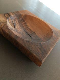 Nüsslischale aus Nussbaumholz drechseln woodturning