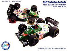This papercraft is from nifty. The Benetton was the Formula One car built and raced by the Benetton team for the 1986 Formula One season. Ariel Atom, Paper Car, F1 Racing, Paper Models, Benetton, Formula One, Scale Models, Grand Prix, Race Cars