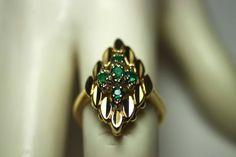Estate Special 0.50cts Colombian Emerald & por JRColombianEmeralds, $940.00