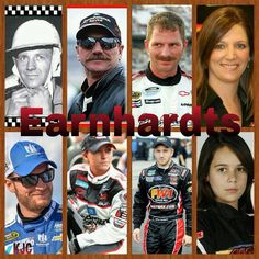 The Earnhardt Family Ralph Dale Kerry Kelley Dale Jr Taylor Jeffery Karsen Elledge