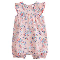 Girls' Floral Romper purchased
