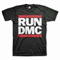 RUN DMC LOGO BLACK T-SHIRT – Rebel Culture