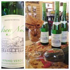"""This green wine from Portugal is called the """"beer of wines"""". Light, refreshing and best served cold.   It's the ultimate summer wine! Stop on for your own bottle today"""